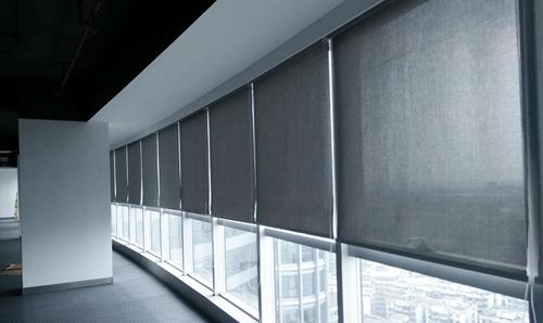 烟台办公窗帘案例-交通局